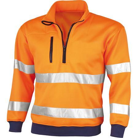 Qualitex® Signal Warnschutz | Sweatshirt