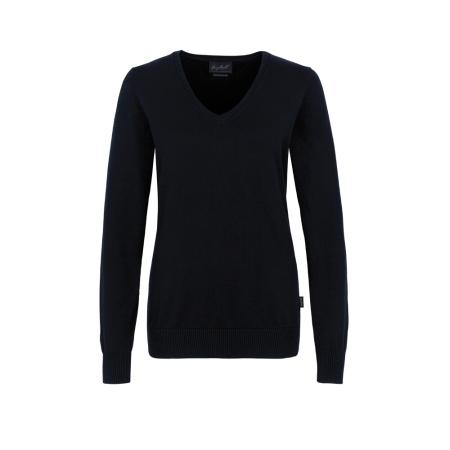 HAKRO Premium-Cotton | Damen-V-Pullover