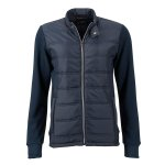 James & Nicholson | Men's Hybrid Sweat Jacket
